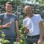 i viticoltori e cantinieri- padre Florian e figlio Meinrad